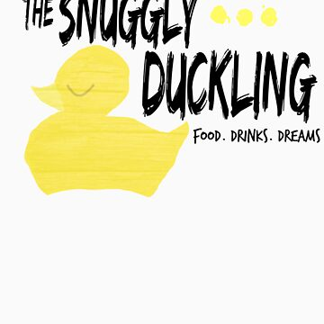 The Snuggly Duckling - BLACK by Toovalu