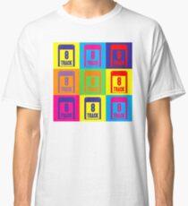 8 Track Pop Art T-Shirt Classic T-Shirt