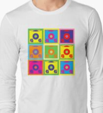 45 Record Pop Art Long Sleeve T-Shirt