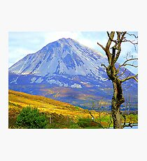 Mount Errigal In Late Summer Photographic Print