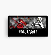 Run, Robot! Canvas Print