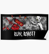 Run, Robot! Poster