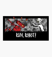 Run, Robot! Photographic Print