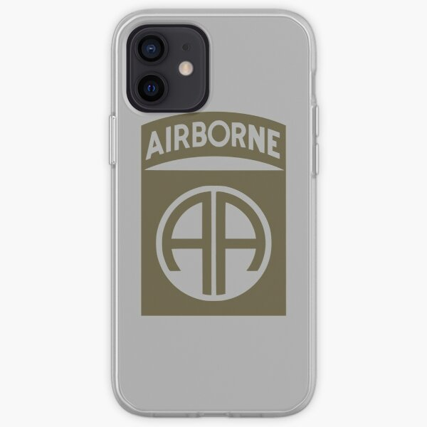82nd Airborne (subdued) iPhone Soft Case
