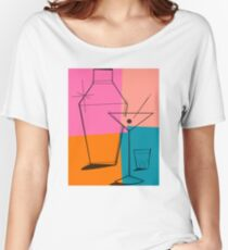 Pop Art Martini Women's Relaxed Fit T-Shirt