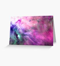 Orion Nebula [Pink Clouds] | Galaxy Mathematix Greeting Card