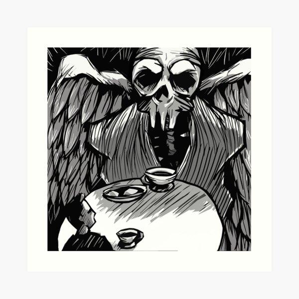 Dark Contemplation Art Print