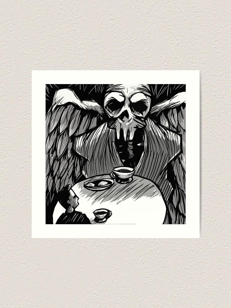 Alternate view of Dark Contemplation Art Print