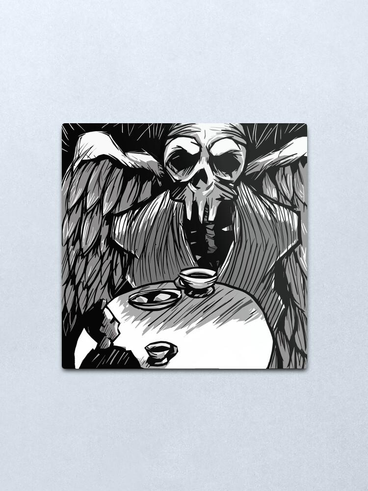 Alternate view of Dark Contemplation Metal Print