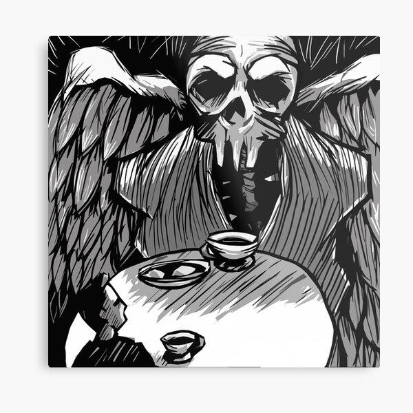 Dark Contemplation Metal Print