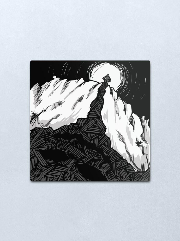 Alternate view of Reflection Metal Print