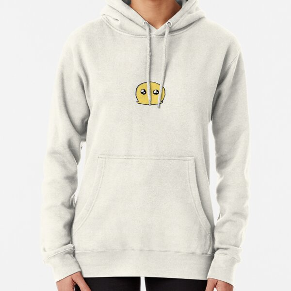 Blob on white background Pullover Hoodie