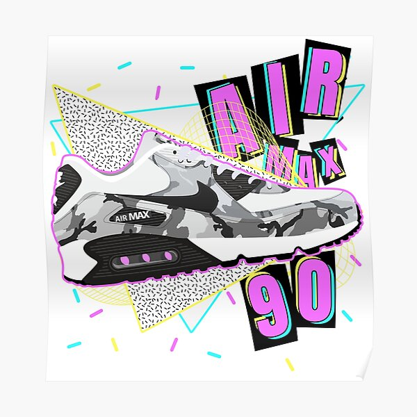 Air Max 90 Poster by phildistress