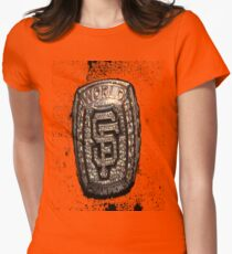 Go Giants Womens Fitted T-Shirt