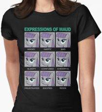 Expressions of Maud Tshirt Womens Fitted T-Shirt