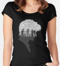 Goodbye Raggedy Man (Alternate) Women's Fitted Scoop T-Shirt