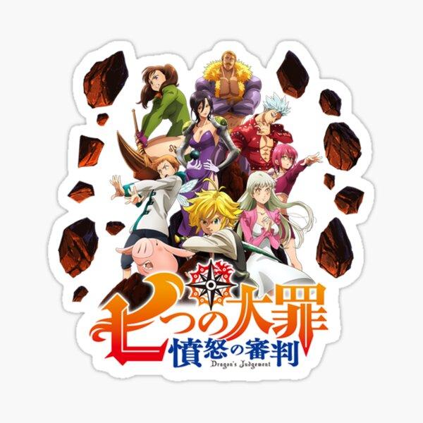Logotipo de The Seven Deadly Sins: Dragon's Judgment Pegatina