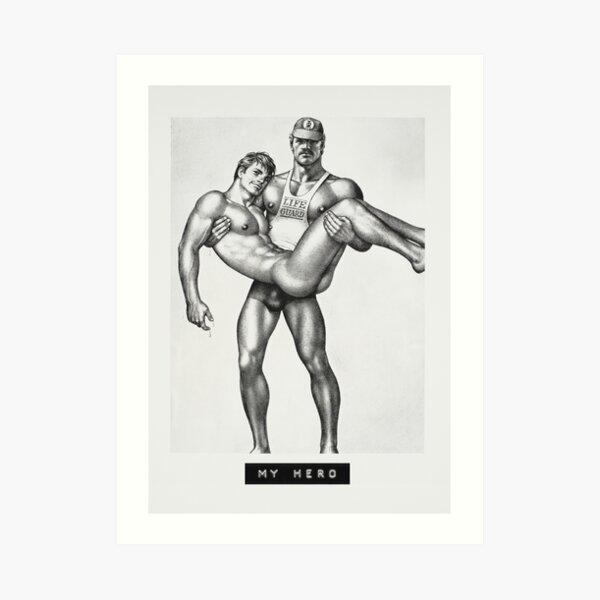 My Hero (Tom of Finland) Art Print