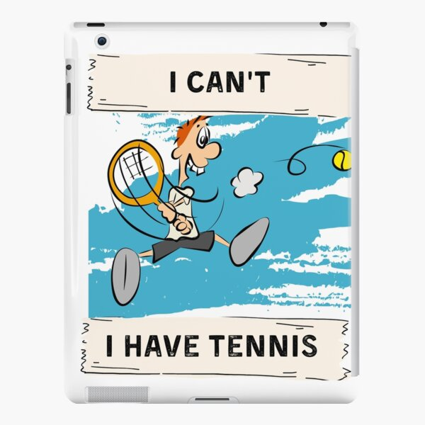 I can't, I have tennis iPad Snap Case