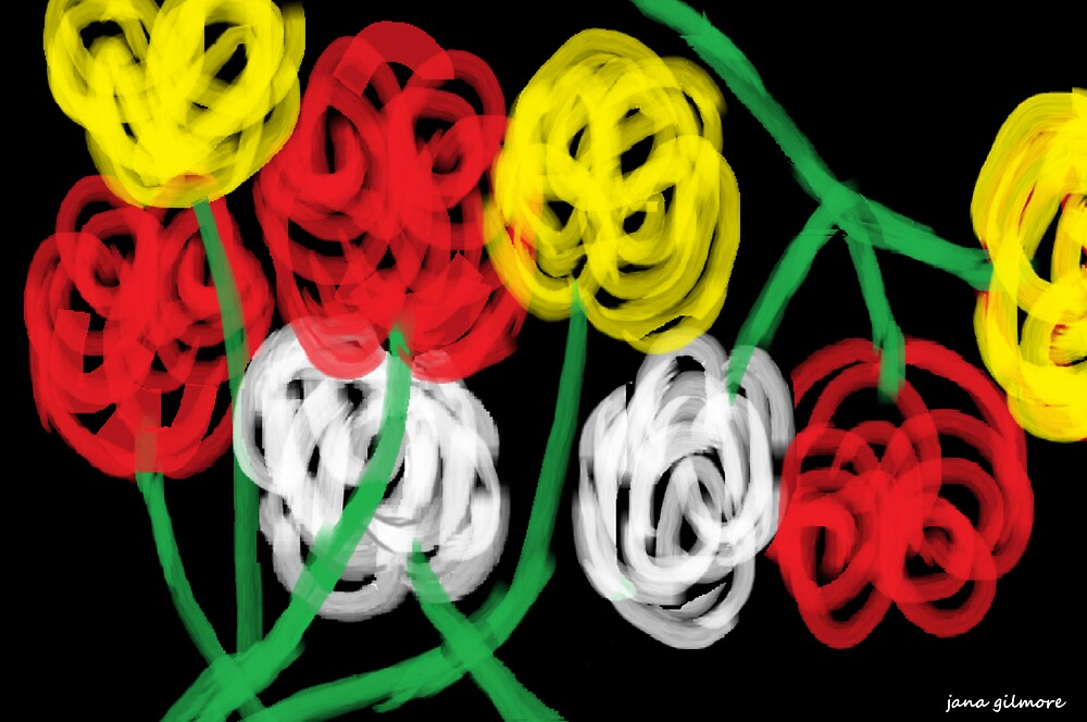 Midnight Roses by Jana Gilmore