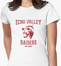 Echo Valley Raiders Womens Fitted T-Shirt