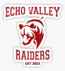 Echo Valley Raiders Sticker