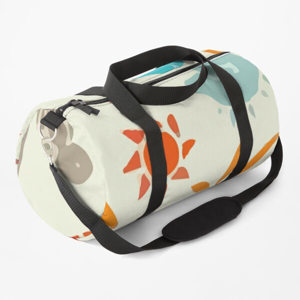 Sun Palm Tree Tropic Duffle Bag