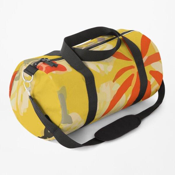 Sun Palm Tree Beach Duffle Bag