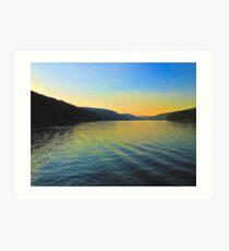Kinzua Sunset Art Print