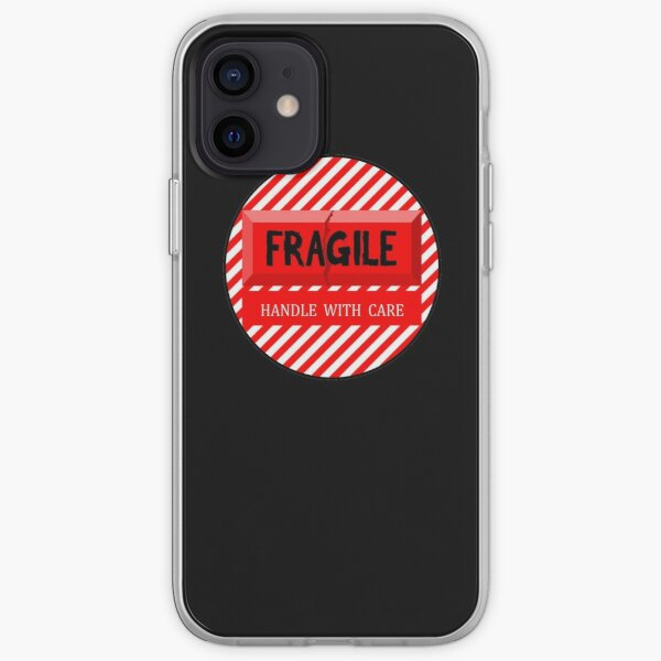 Fragile Handle with Care iPhone Soft Case