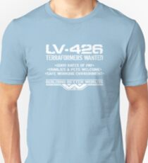 LV-426 Terraformers Wanted Unisex T-Shirt