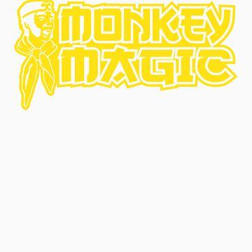 Monkey Magic by 8balltshirts