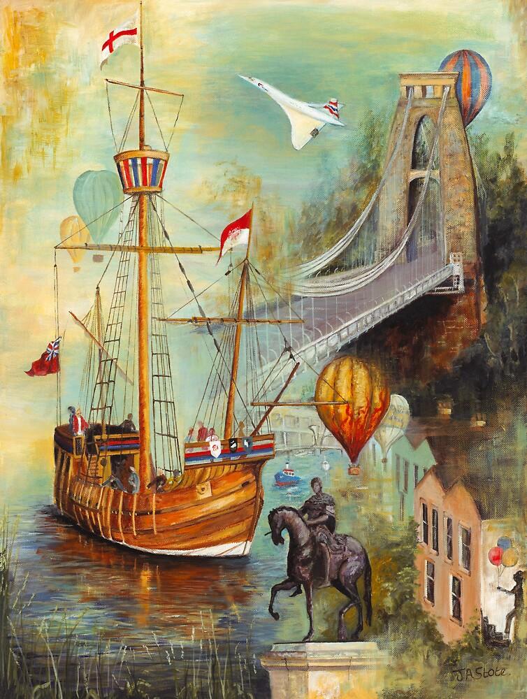 Bristol Impressions - 'The Matthew' by JeanStote