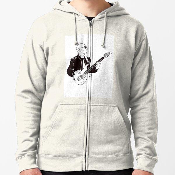Joe Satriani Zipped Hoodie