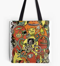 Warm in (couleur) Tote Bag