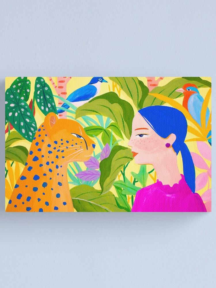 Alternate view of Communication Canvas Print