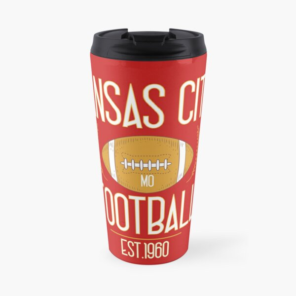 Kansas City 2020,Vintage KC Football Missouri Retro Gift Travel Mug