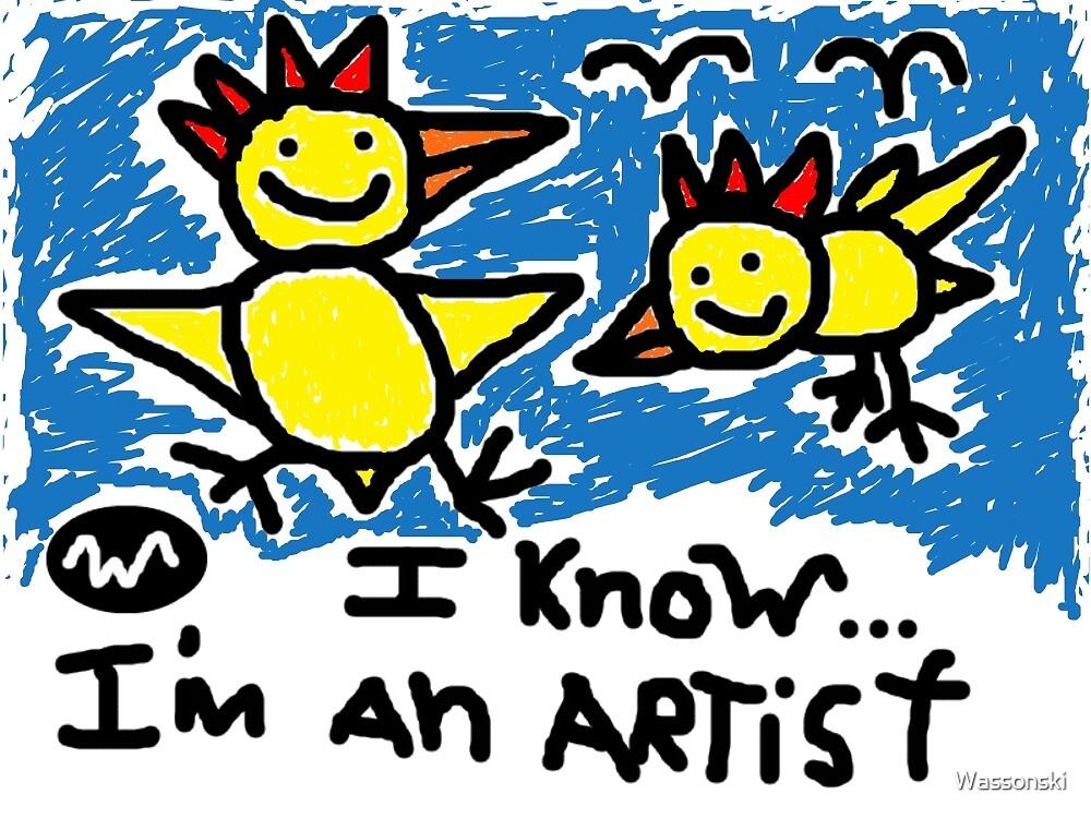 AMAZING ART CHICKEN WASSONSKI by Wassonski