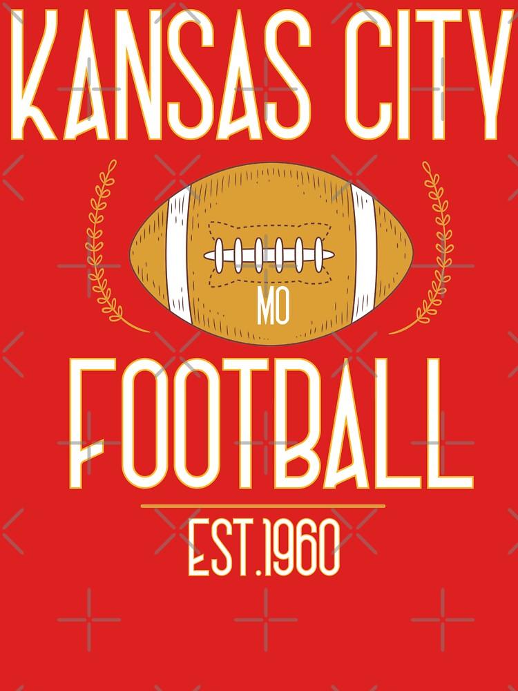 Kansas City 2020,Vintage KC Football Missouri Retro Gift by hamzafroug1