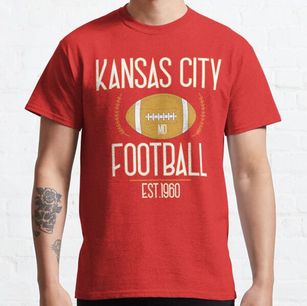 Kansas City 2020,Vintage KC Football Missouri Retro Gift Classic T-Shirt