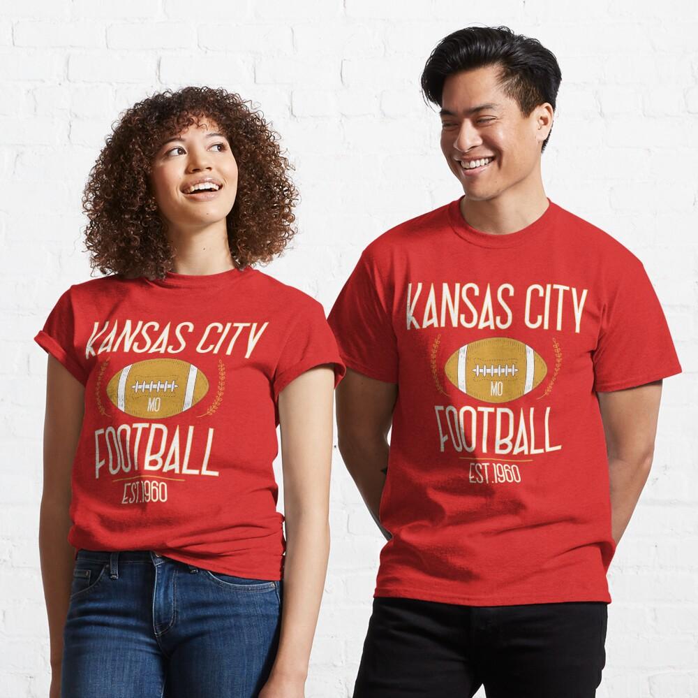 Kansas City 2020,Vintage KC Football Missouri Retro Gift Classic T-Shirt