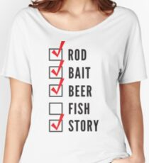 Fishing Checklist Women's Relaxed Fit T-Shirt