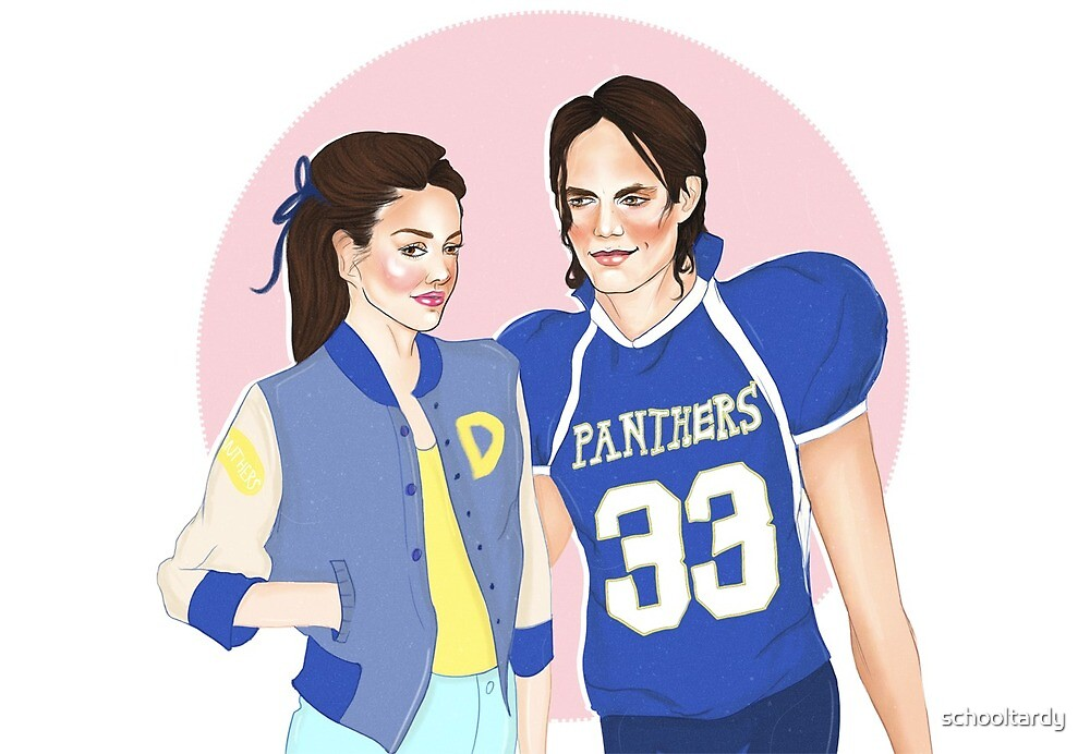 Tim Riggins and Lyla Garrity - Friday Night Lights by schooltardy