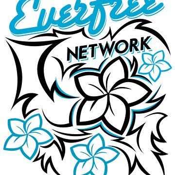 EFN Tribal Design (White Background) by EverfreeNetwork