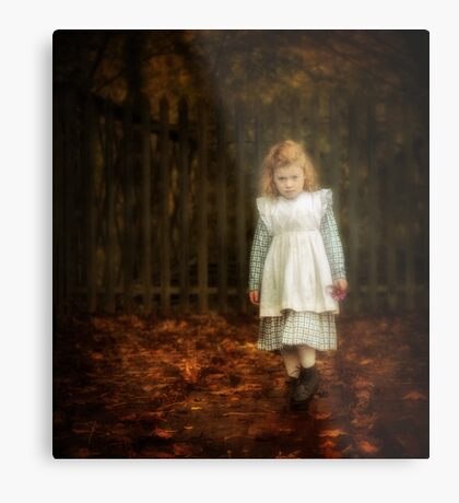 Lonley Child Metal Print
