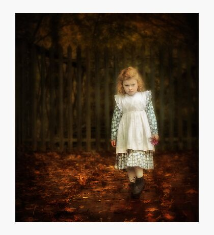 Lonley Child Photographic Print