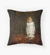 Lonley Child Throw Pillow