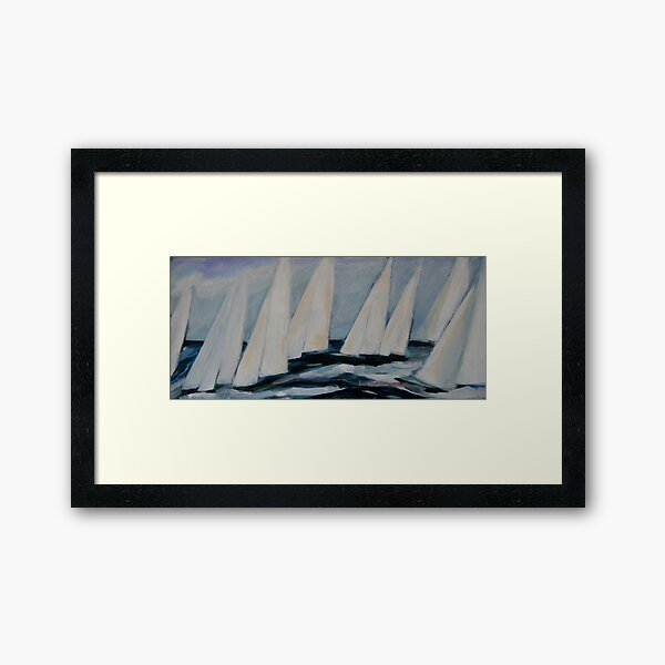 MONDAY AFTERNOONS Framed Art Print