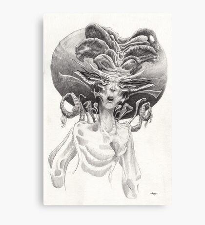 The Librarian Canvas Print