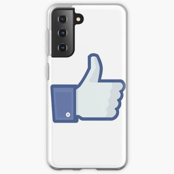 Facebook 'like' button Samsung Galaxy Soft Case